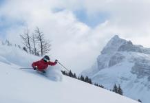 اسکی در آلبرتا