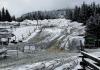 بارش شدید برف در بریتیش کلمبیا