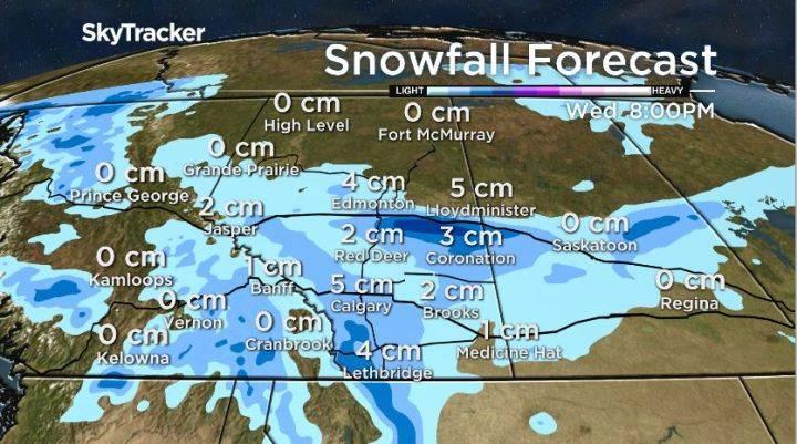 برف در آلبرتا 2