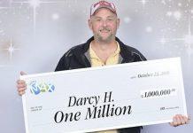 برنده 1 میلیون دلاری لاتاری