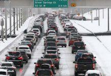 افزایش تصادفات بعد از بارش برف سنگین