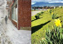 هوای بهاری ونکوور