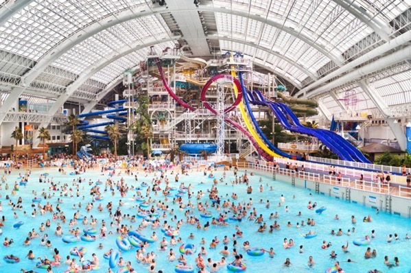World Waterpark at West Edmonton Mall AB Canada