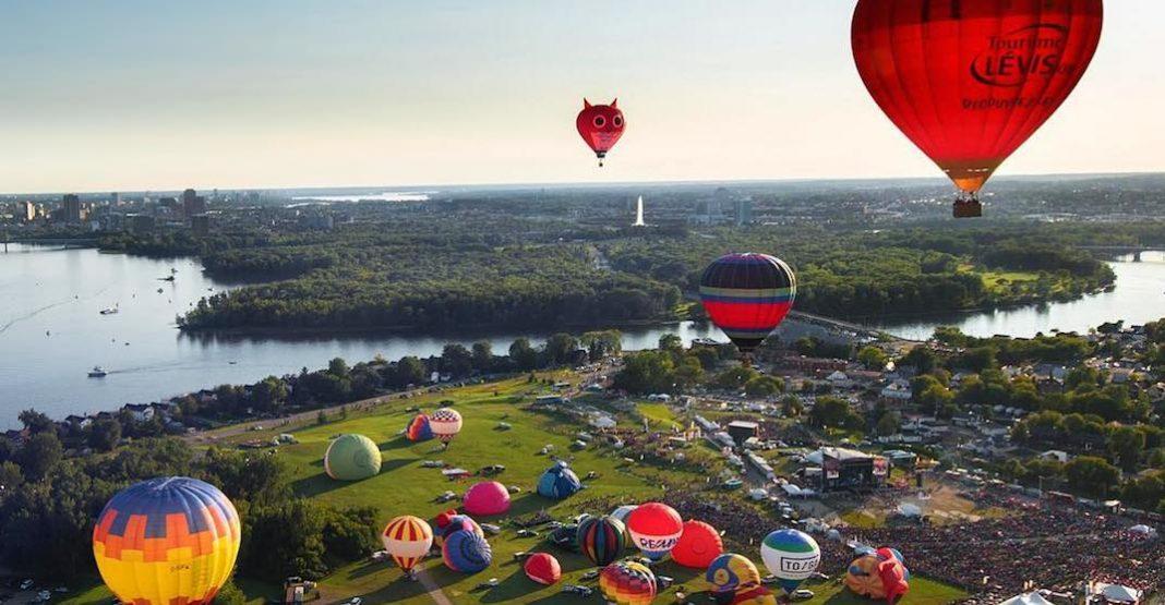 بزرگترین فستیوال بالن کانادا