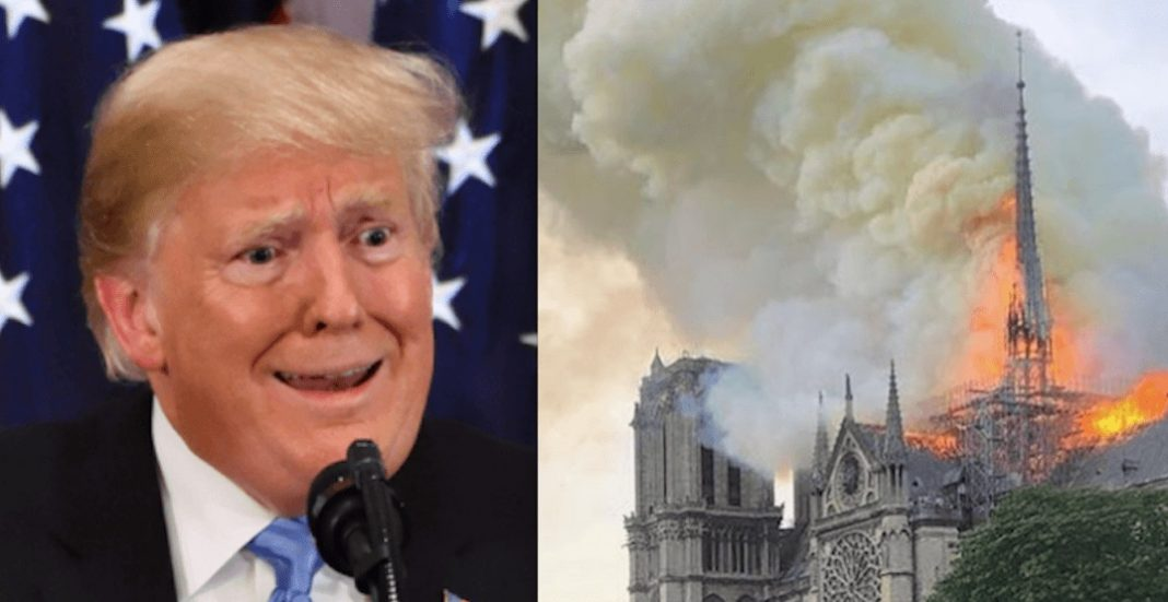 ترامپ و نتردام